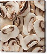 Fresh Mushrooms Acrylic Print