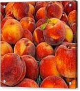 Fresh Peaches Acrylic Print