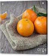 Fresh Tangerine Acrylic Print