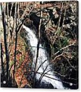 Fresh Water Streams Around Poconos Pa America Usa  Acrylic Print