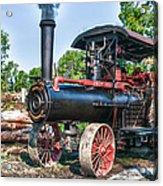 Frick Steam Tractor Acrylic Print