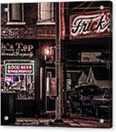 Frick's Tap Acrylic Print