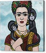 Frida In The Sky Acrylic Print