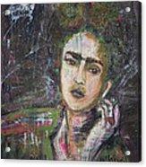 Frida Y Cigarrillos Acrylic Print