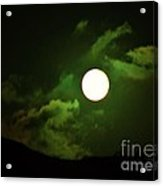 Friday The 13th Moon And Dragons Acrylic Print