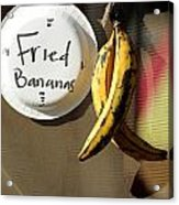 Fried Bananas Acrylic Print