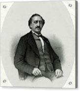 Friedrich Von Flotow  German Musician Acrylic Print