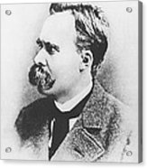 Friedrich Wilhelm Nietzsche In 1883 Acrylic Print