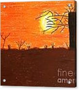 Friendly Sunset Acrylic Print