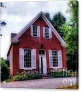 Friends Meeting House Acrylic Print by Skip Willits