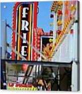 Fries At The Fair Acrylic Print