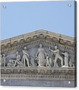 Frieze - Capitol - Washington Dc Acrylic Print