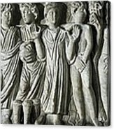 Frieze. Constatines Period. 4th C. The Acrylic Print