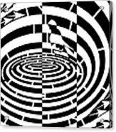 Frisbee Toss Maze  Acrylic Print