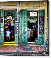 Fritzels Bar On Bourbon Street Acrylic Print