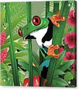 Frog 02 Acrylic Print