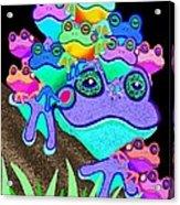 Frog Family Too Acrylic Print