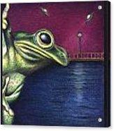 Frog Wars Acrylic Print