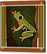 Frogtown Acrylic Print
