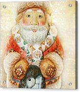 frohe Weihnachten Acrylic Print