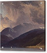 From Balestrand At The Sognefjord Acrylic Print