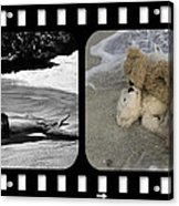 From Here To Eternity Film Strip Acrylic Print by William Patrick