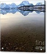 From Pebbles To Mountains Acrylic Print