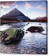 From River To Bauchaille Acrylic Print