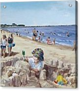 From Sandcastles To College Acrylic Print by Jack Skinner