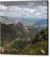 From Snowdon's Summit Acrylic Print