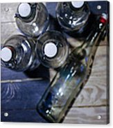 From The Bottle Top Acrylic Print by John Grace