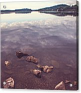 From The Depth Of Silence. Ladoga Lake  Acrylic Print