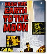 From The Earth To The Moon, Us Poster Acrylic Print