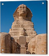 From The Feet Of The Sphinx Acrylic Print