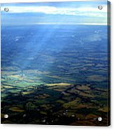 From The Sky 1 Acrylic Print by Maxwell Amaro