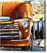 From Tucson To Tucumcari Acrylic Print