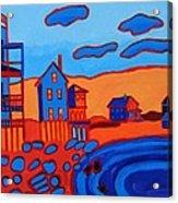 Front Beach Rockport MA Acrylic Print