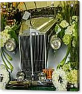 Front Of '36 Packard Acrylic Print