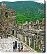 Front Of Theater In Ephesus-turkey Acrylic Print
