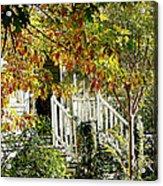 Front Porch Color Acrylic Print