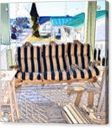 Front Porch On An Old Country House  3 Acrylic Print