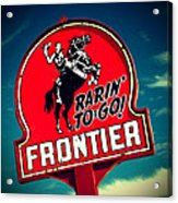 Frontier Land Acrylic Print