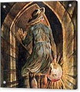 Frontispiece To Jerusalem Acrylic Print by William Blake