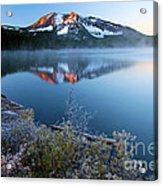Frost At Paulina Lake Acrylic Print