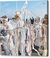 Frost Fair Parade At St Leonards Acrylic Print
