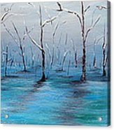 Frost Like Ashes Acrylic Print