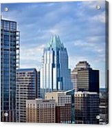Frost Tower Iphone And Prints Acrylic Print