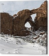 Frosted Double Arch Acrylic Print