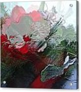 Frosted Hibiscus 2 Acrylic Print