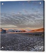 Frosted Palouse Acrylic Print